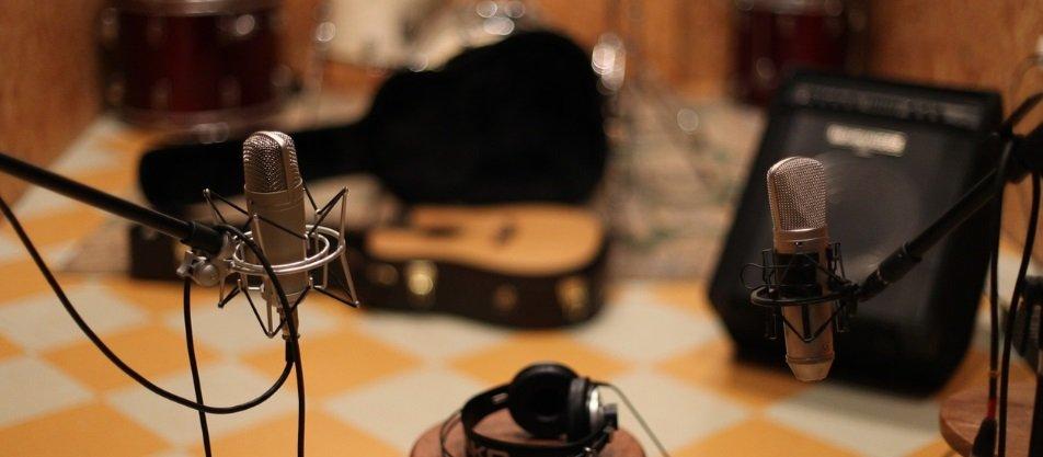 Studio d'enregistrement instrument / Voix