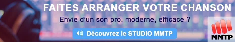 Arrangeur Musical - Arrangement Musical - Studio MMTP